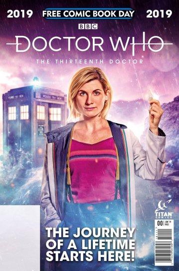 Doctor Who FCBD